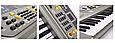 Детский пианино синтезатор MQ 806 орган 54 клавиши  USB (МP3) + микрофон. 2 динамика. Работает от сети, фото 3
