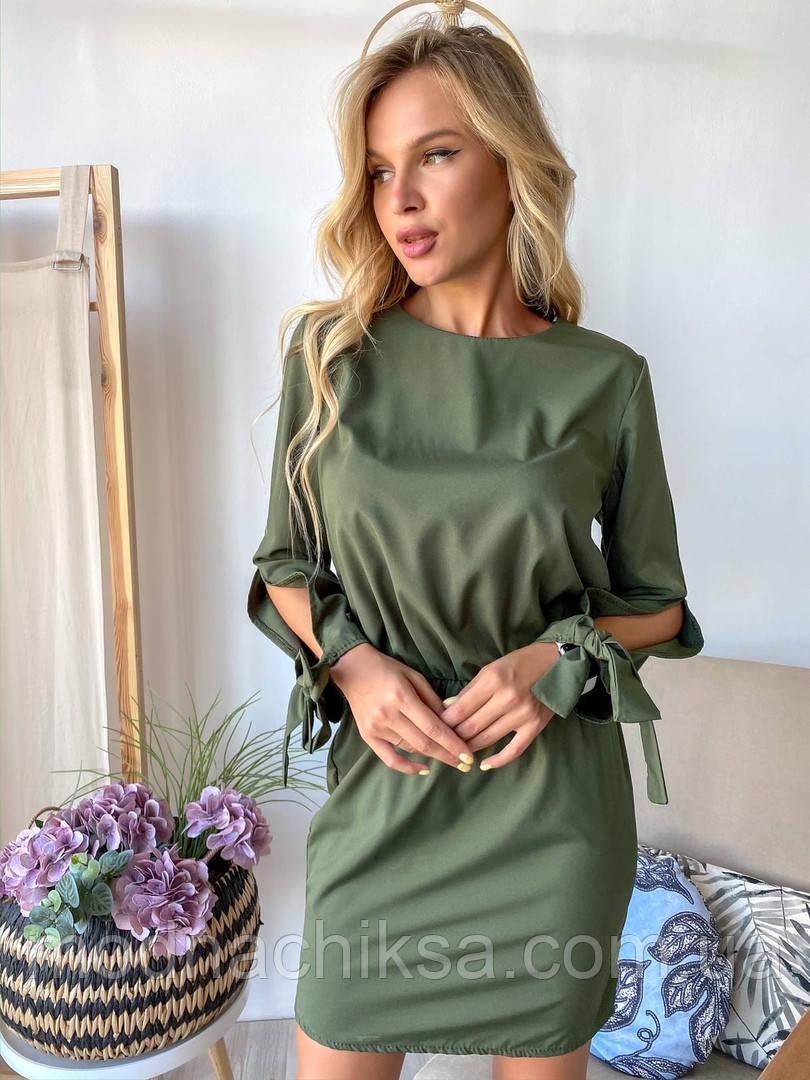 Платье софт