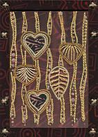 """Набор для вышивания нитками и бисером (креативное рукоделие) """"Танец ветра"""""""