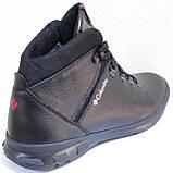 Ботинки зимние мужские кожаные от производителя модель ЛМ1023, фото 4