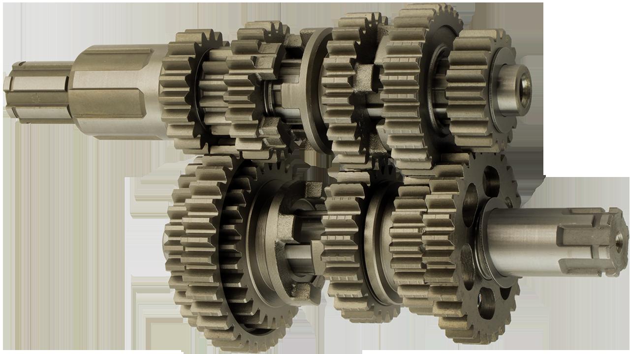 JL150-70C Вал первинний і вторинний КПП двигуна CGR150 162FMJ Loncin - 191250063-0001 / 191390121-0001