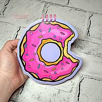 Блокнот мини блокнотик, Пончик
