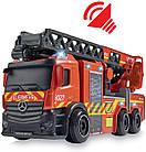 Пожарная машина Мерседес с телескопической лестницей, 23 см, 3714011, фото 7