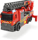 Пожарная машина Мерседес с телескопической лестницей, 23 см, 3714011, фото 3