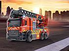 Пожарная машина Мерседес с телескопической лестницей, 23 см, 3714011, фото 2