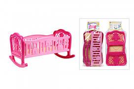 Кроватка колыбель для куклы 45х34х27 см, 4531TXK