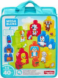 Конструктор Mega Bloks - Животные (Build and Match Animals), 40 дет, 1+ (FLT36)