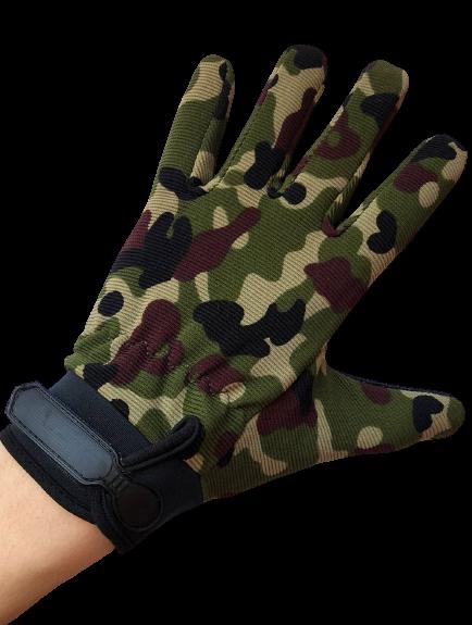 Детские перчатки тактические цвет камуфляж