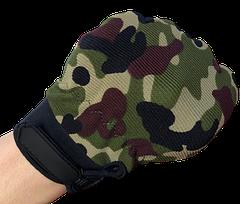 Детские перчатки тактические цвет камуфляж, фото 3