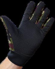 Детские перчатки тактические цвет камуфляж, фото 2