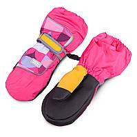 Термоварежки детские. Варежки для девочки TuTu арт 3-005110 ( 2-4, 4-6, 7-9 лет), фото 1