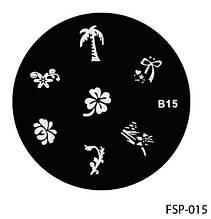 Форма для штампа Lady Victory LDV B15/FSP-015 /44-0