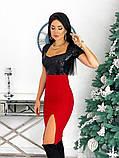 Нарядное платье с пайеткой 50-614, фото 3