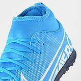 Детские сороконожки Nike Mercurial Superfly Club TF JR, фото 7