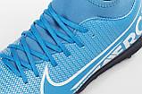 Детские сороконожки Nike Mercurial Superfly Club TF JR, фото 8