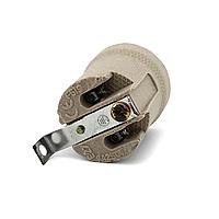 Керамический патрон Е27 (27 мм.) с держателем