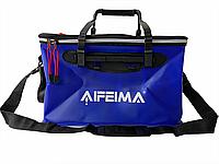 Сумка рыбацкая Feima 40см (чехол, ведро мягкое, ящик для рыбалки) для хранения рыбы и прикормки EVA