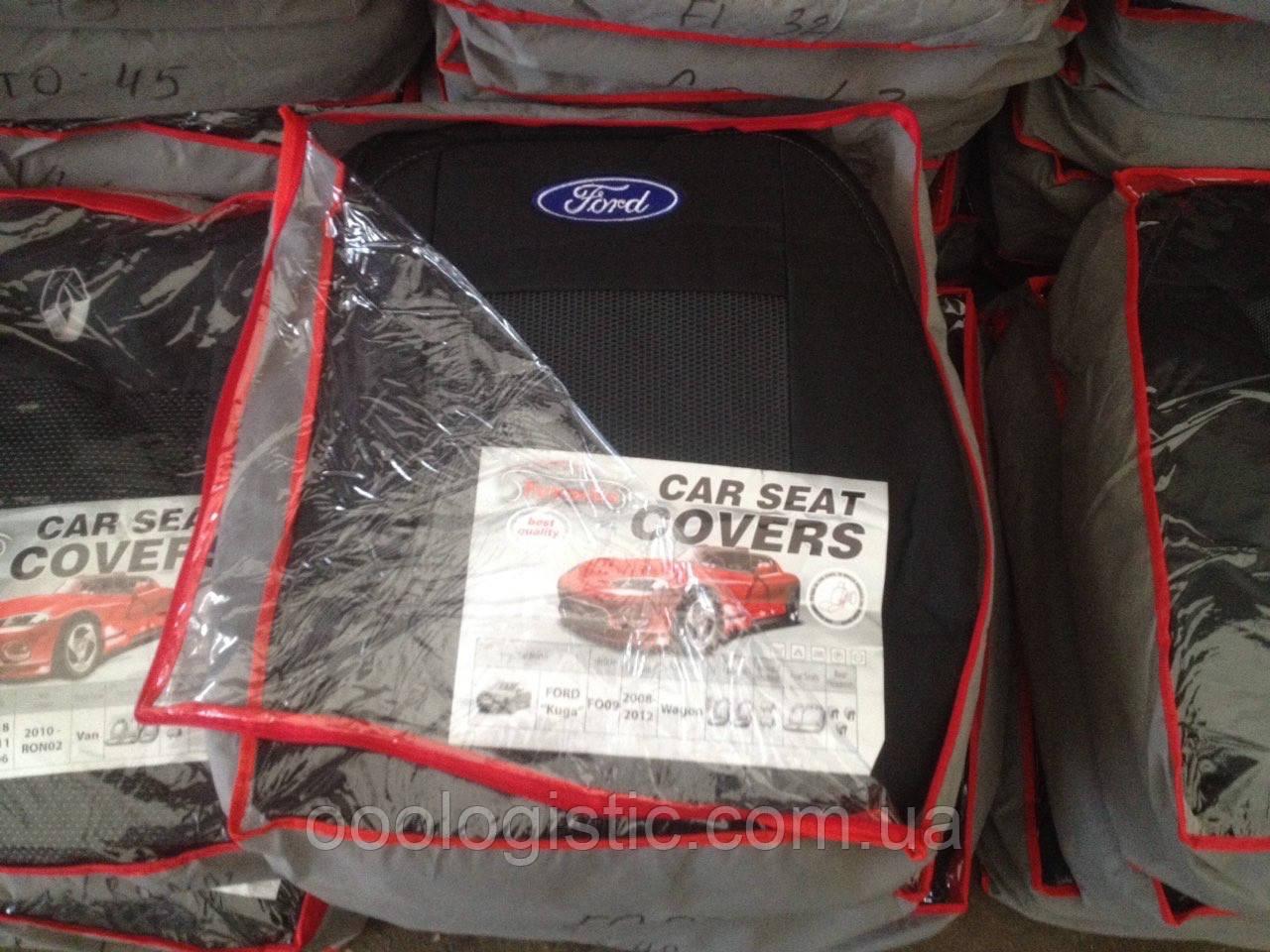 Авточехлы  на Ford Kuga 2008-2012 wagon,Форд Куга 2008-2012 года вагон