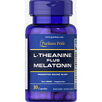 L-Theanine Plus Melatonin - 30 Caps