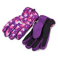 Термоперчатки детские.Перчатки для девочки  TuTu арт. 3-005113 (4-6, 7-9, 10-11 лет), фото 1