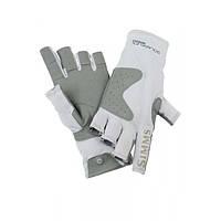 Solarflex Guide Glove Grey L перчатки Simms