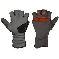 ExStream Foldover Mitt Dk Gunmetal S перчатки Simms