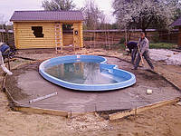 Стекловолоконный бассейн. Для чего и почему?