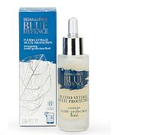 Флюид для лица антивозрастной мультизащитный BLUE DEFENCE Bema . 30 мл