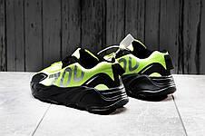 Кроссовки мужские 15524, Adidas Yeezy 700, зеленые, [ 41 42 43 44 45 ] р. 42-27,0см., фото 3