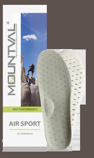 Гигиенические стельки для спортивной обуви Mountval Air Sport 42