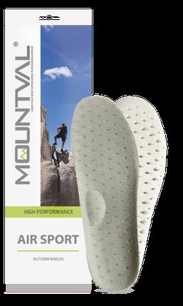 Гигиенические стельки для спортивной обуви Mountval Air Sport 42, фото 2