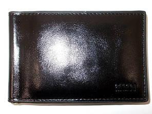 Зажим для денег с визитницей MMN 915-1 черный