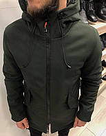 Парка мужская TM хаки зимняя. Куртка зеленая удлиненная 52-54, фото 1