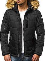 Мужская куртка Comanda черная зимняя. Курточка теплая. Размеры (S, M, L, XL, XXL) 46 48 50 52