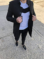 Стильное мужское пальто осень. Размеры  S, M, L, XL, XXL