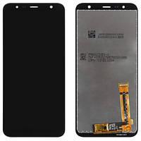 Дисплей (LCD) Samsung J415 Galaxy J4 Plus (2018) | J610 PLS з тачскріном, чорний, оригінал (PRC)