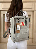 Стильний рюкзак Fjallraven Kanken світло-сірий/Канкен Канкен портфель для школи і на кожен день