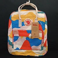 Стильний рюкзак Fjallraven Kanken кольоровий/Канкен Канкен портфель для школи і на кожен день