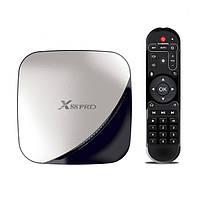 Смарт ТВ-приставка Transpeed X88 Pro 4/128Gb android tv box для телевізора на андроїді