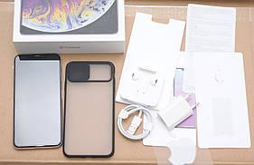 Apple iPhone Xs Max 64Gb Silver Neverlock + Чохол ГАРАНТІЯ