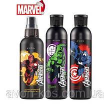 Парфюмерно -косметический Набор для мальчиков Avengers Marvel - Герои Мстители 3 в 1