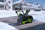 Снегоуборщик аккумуляторный Greenworks GD80SBК2 (2600402) 80V (51 см) бесщеточный с АКБ и зар. ус-вом, фото 2