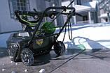 Снегоуборщик аккумуляторный Greenworks GD80SBК2 (2600402) 80V (51 см) бесщеточный с АКБ и зар. ус-вом, фото 3