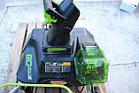 Снегоуборщик аккумуляторный Greenworks GD80SBК2 (2600402) 80V (51 см) бесщеточный с АКБ и зар. ус-вом, фото 7
