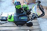 Снегоуборщик аккумуляторный Greenworks GD80SBК2 (2600402) 80V (51 см) бесщеточный с АКБ и зар. ус-вом, фото 9