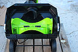 Снегоуборщик аккумуляторный Greenworks GD80SBК4 (2600402) 80V (51 см) бесщеточный с АКБ 4 Ач и зар. ус-вом, фото 9