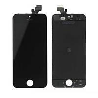 Дисплей для iPhone 5 с сенсором, черный, копия высокого качества