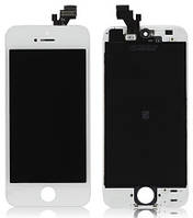 Дисплей для iPhone 5 с сенсором, белый, копия ,TianMa (TM)