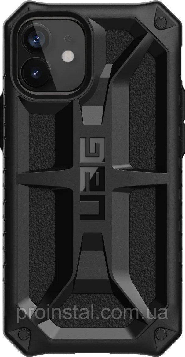 Чехол UAG для iPhone 12 Mini Monarch, Black