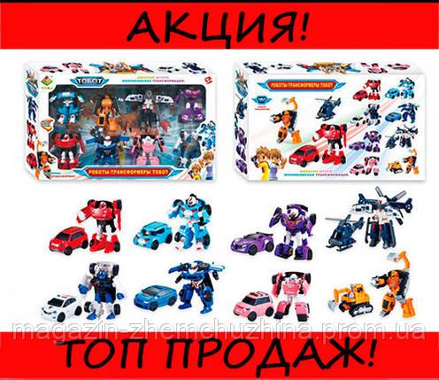 """Набор трансформеров """"Tobot"""" 8 шт DT-339-8, фото 2"""